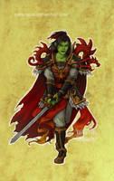 Disney meets Warcraft - Mulan by LiberLibelula