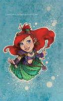 Disney meets Warcraft - Ariel by LiberLibelula