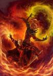 Commission - Holy and Fel by LiberLibelula