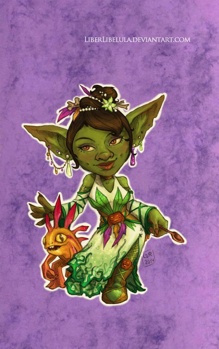 Disney meets Warcraft - Tiana by LiberLibelula