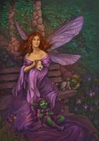 The Ivy Garden by LiberLibelula