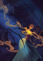 The Haunt Project - Illustration by LiberLibelula