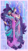 Dauntless - Linx's parents by LiberLibelula