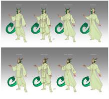Commission - Royal Dragons by LiberLibelula