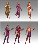 Commission - Pirates' Wardrobe by LiberLibelula