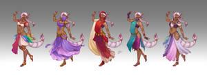 Commission - Ashtola's wardrobe by LiberLibelula
