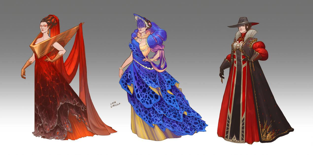 Commission - Inquisitor's Wardrobe by LiberLibelula