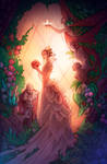 The whispers in the greenhouse by LiberLibelula