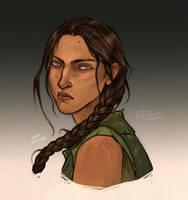 Katniss Everdeen by LiberLibelula