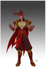 Commission - Vyaetharn's attire by LiberLibelula