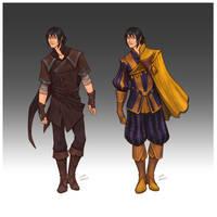 Commission - Enoch's wardrobe by LiberLibelula