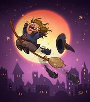 Witchsona - The Catmonger by LiberLibelula