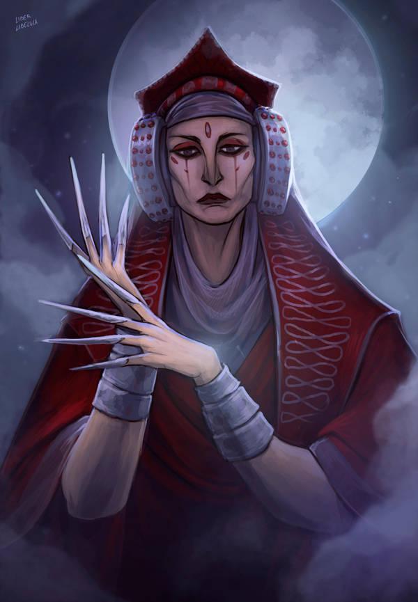 Revered Prophetess by LiberLibelula