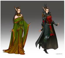 Wardrobe - Lady Ilaydwen by LiberLibelula