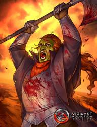 Card Game Illustration - Warcry by LiberLibelula