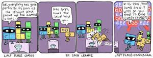 Tetris Heist by Exzachly