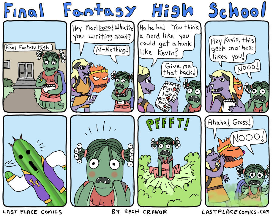 Final Fantasy by Exzachly