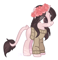 |Auction adopt|closed - Blossom Swirls by NellaDang