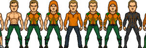 Smallville Aquaman by BAILEY2088