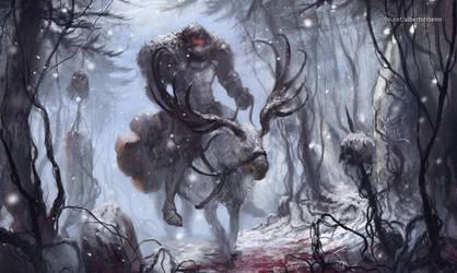 The White Moose by xlxbetoxlx