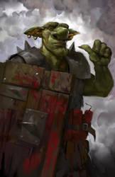 Goblin Shield Master by xlxbetoxlx