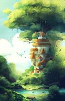 Big-tree by Yanifska