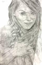 Emma Stone by Jewuo