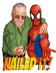 Stan And Spidey by SumtimesIplaytheFool