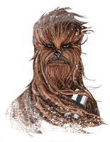 Snowy Chewie by SumtimesIplaytheFool