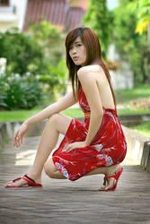 rachel.in.red by rizart