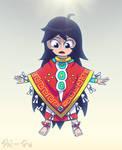 Donaji y el Poncho Magico de Chicahualizteotl by Shi-Gu