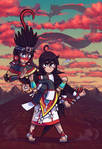 Donaji the strongest girl in the world by Shi-Gu