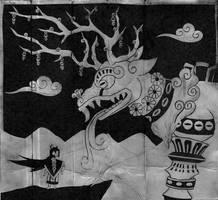 Donaji y el Venado by Shi-Gu