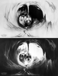Moon's Genesis by Shi-Gu