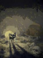 Xolotl - Mictlan by Shi-Gu