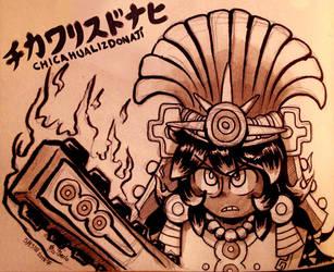 Chicahualizdonaji doodle by Shi-Gu