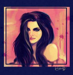 pink by LeksaArt