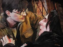 Severus dies by LeksaArt