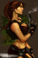 Lara Croft Tomb Raider Underwold by LeksaArt