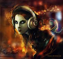 listen II by LeksaArt