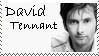 David Tennant Stamp by coleymonkey
