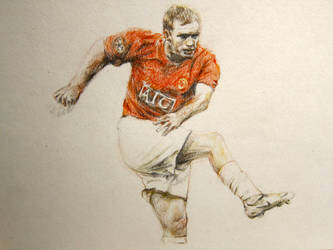 Paul Scholes by missam