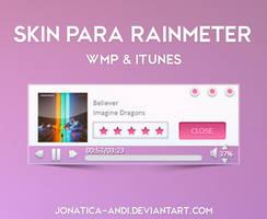 Skin Rainmeter ( Itunes y WMP ) by Jonatica-andi