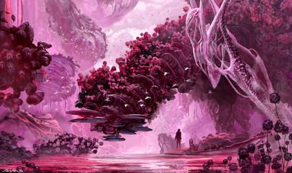 Alien Jungle by ahaas