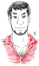 cute dude in red by brunocampelo79