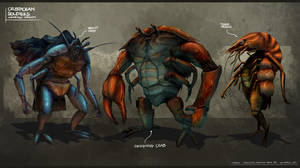 Crustacean Soldiers - Undressed by freakyfir