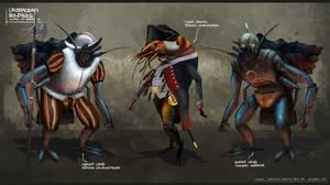 Crustacean Soldiers - Suited Up by freakyfir