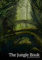 Book Cover - The Jungle Book by freakyfir