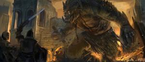 The Siege Beast by freakyfir