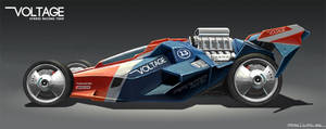 Voltage Racing by freakyfir